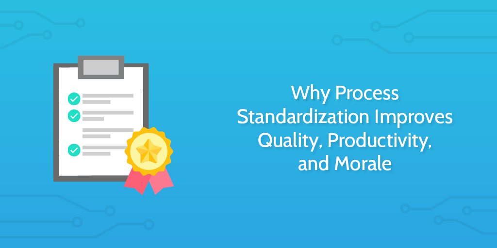 six sigma principles standardization