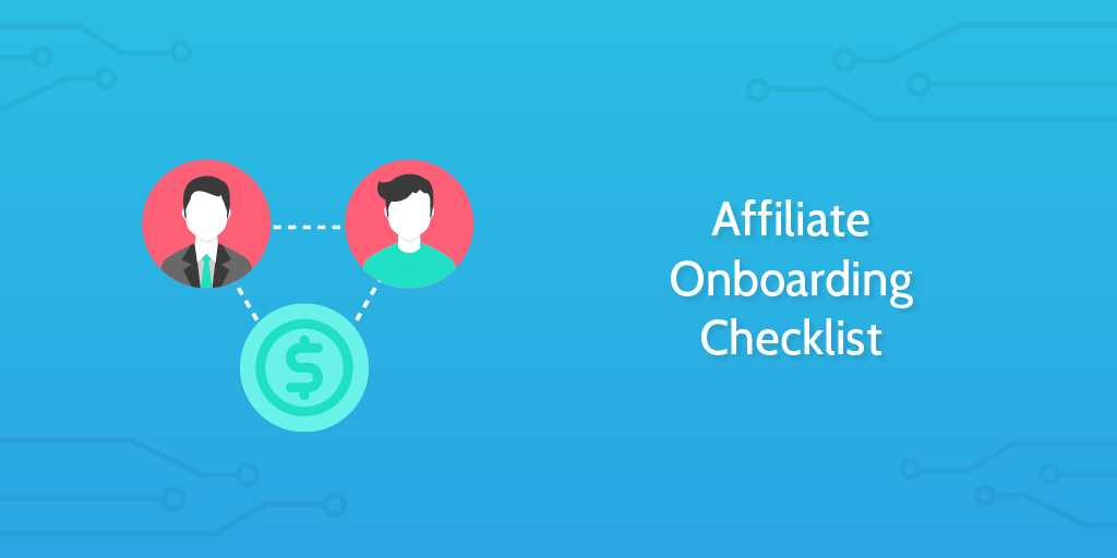 New Affilite Onboarding