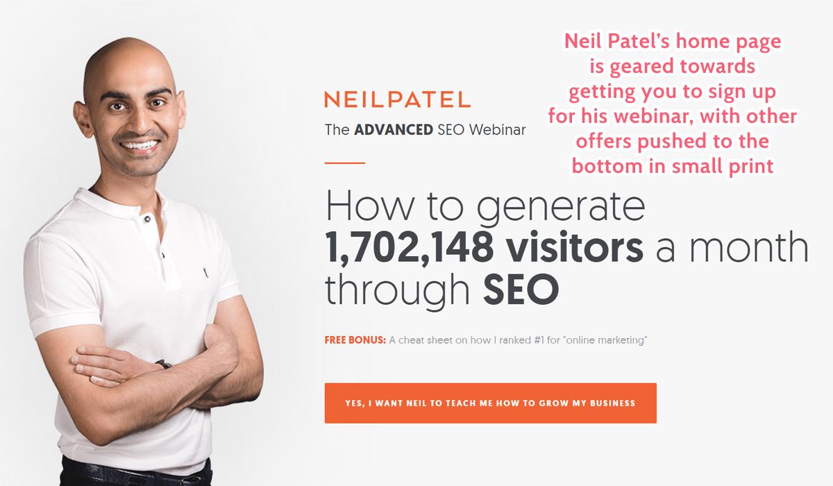 neil-patel-landing-page