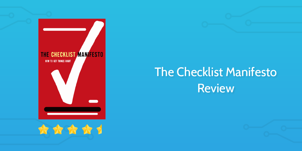 The Checklist Manifesto Review Header