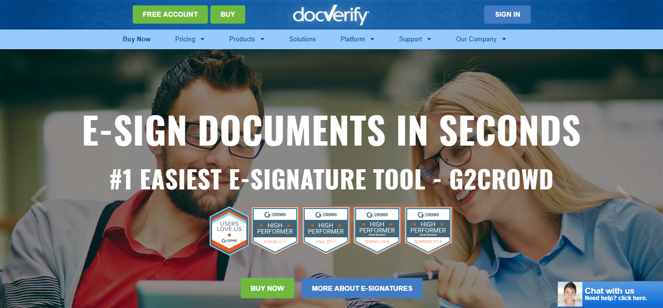 digital signature docverify
