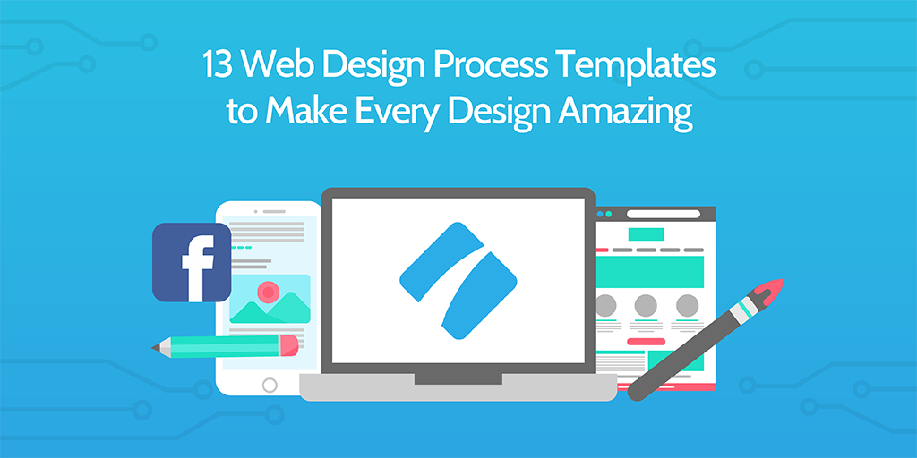 web design process templates
