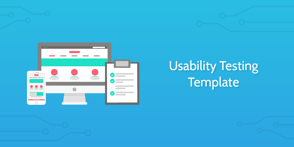 usability testing template