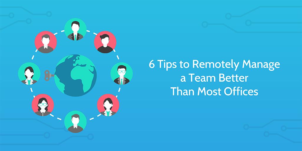 remotely manage