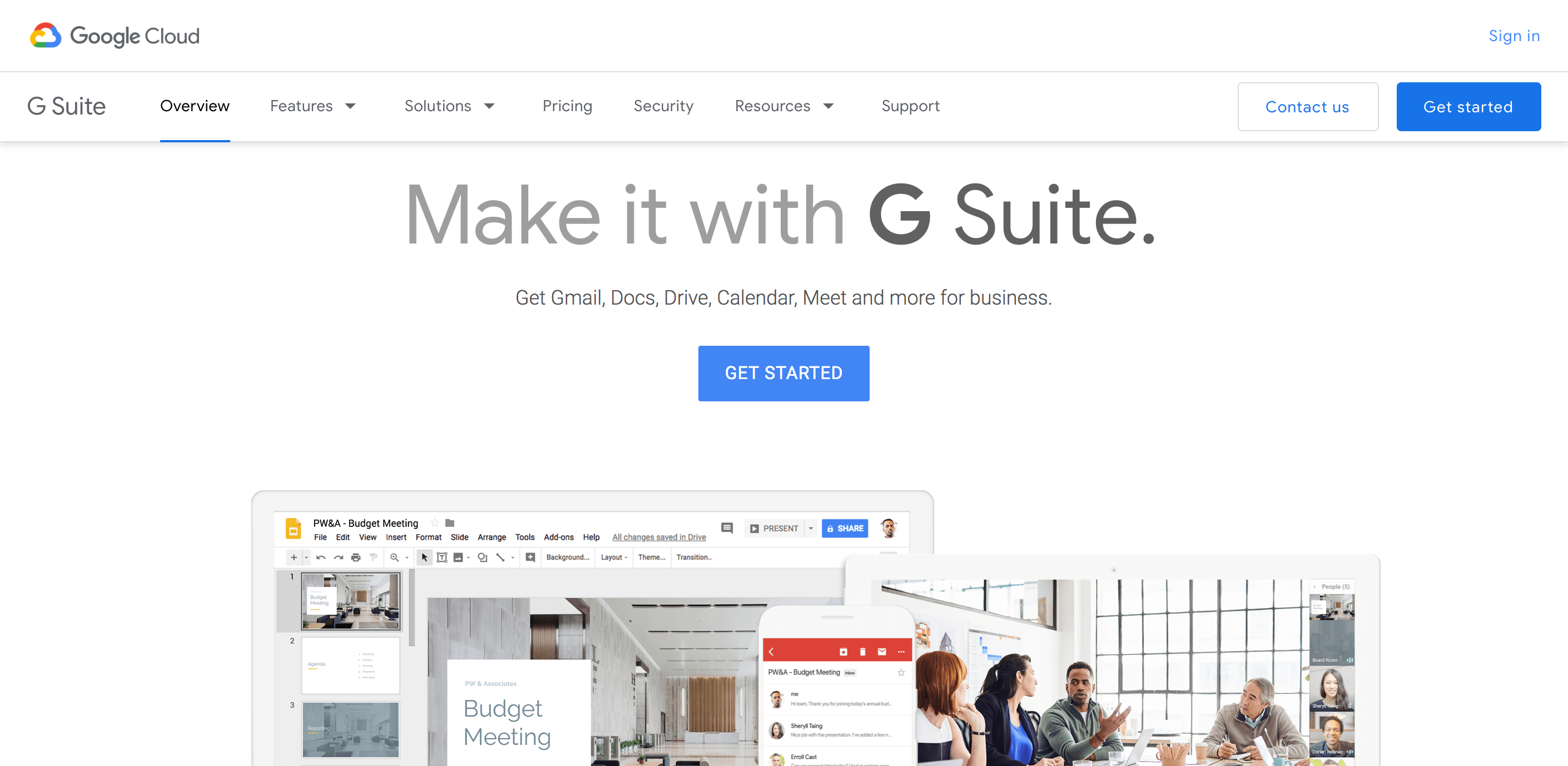 paperless office gsuite