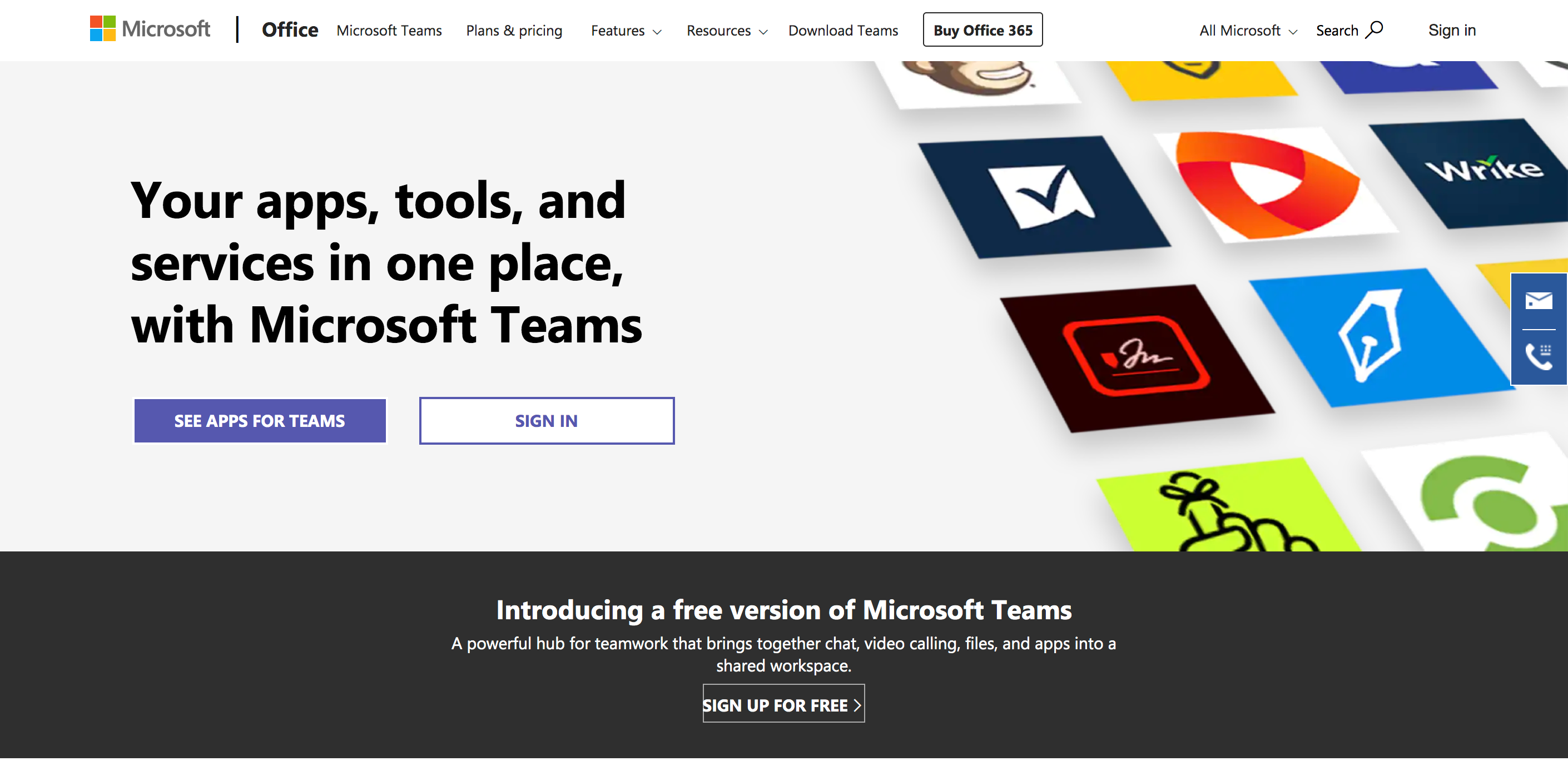 team chat apps microsoft teams