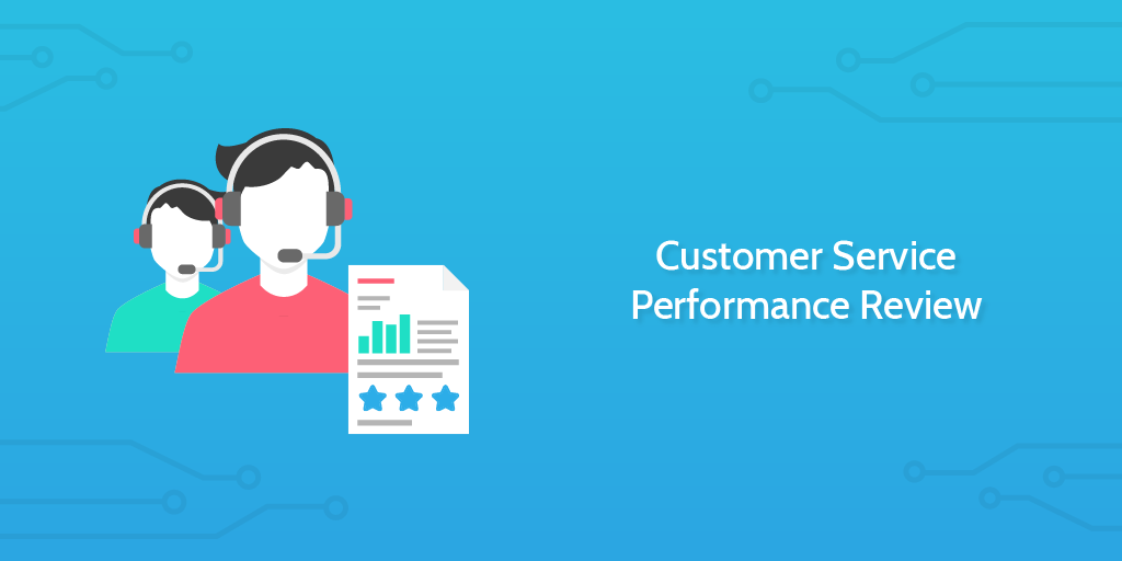 customer service performance review