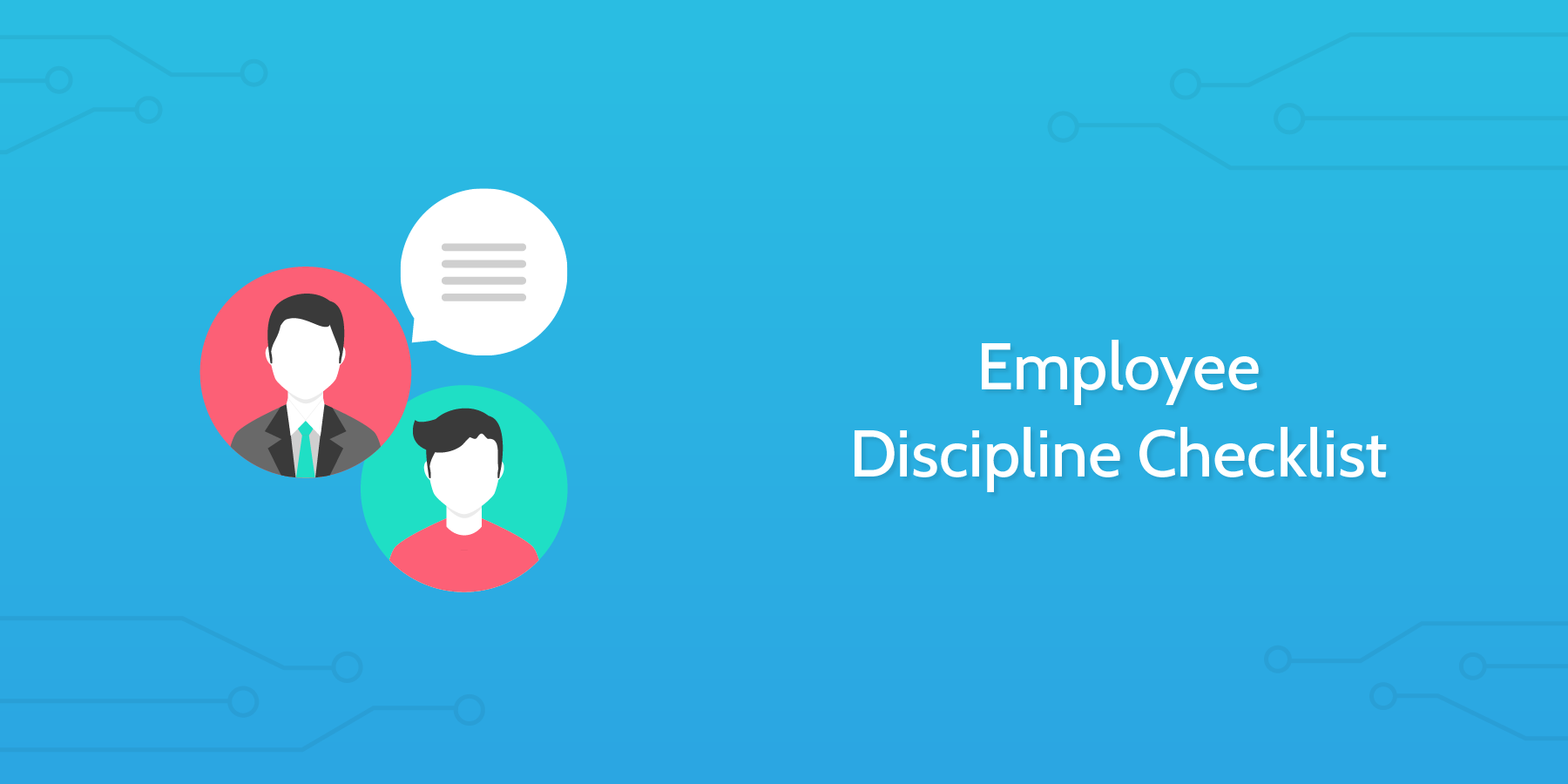 A Checklist for Employee Discipline