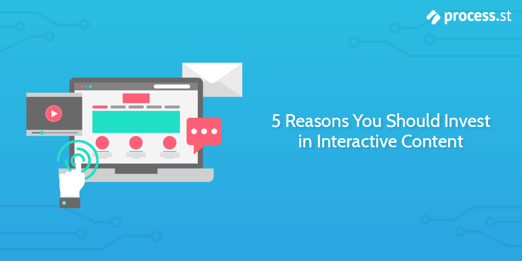 5 Reasons You Should Invest in Interactive Content | Process Street