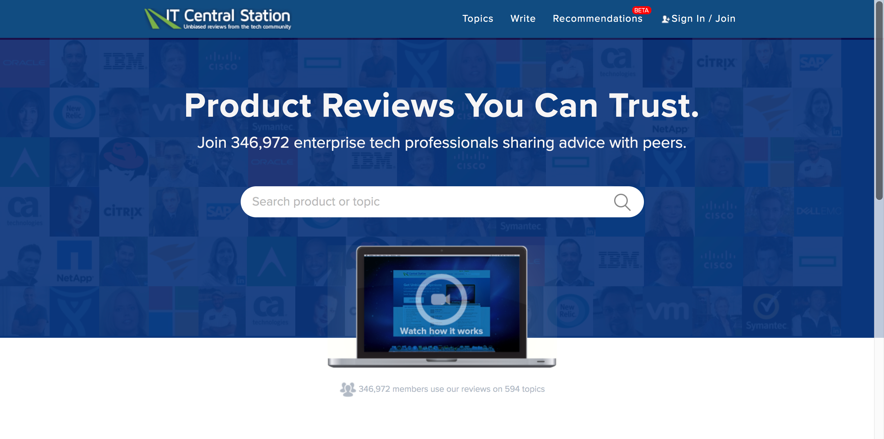 review sites it central station