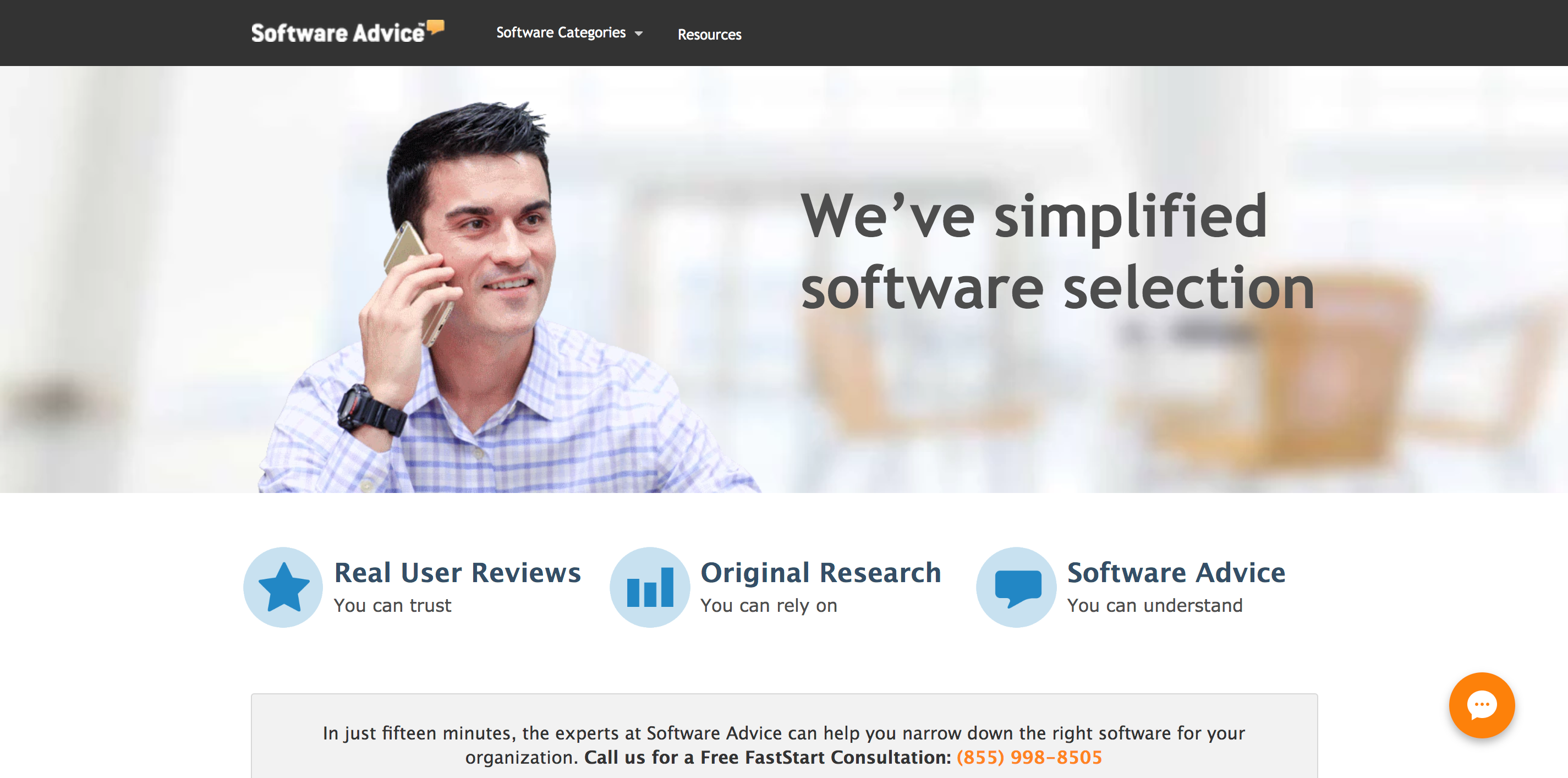 review sites software advice