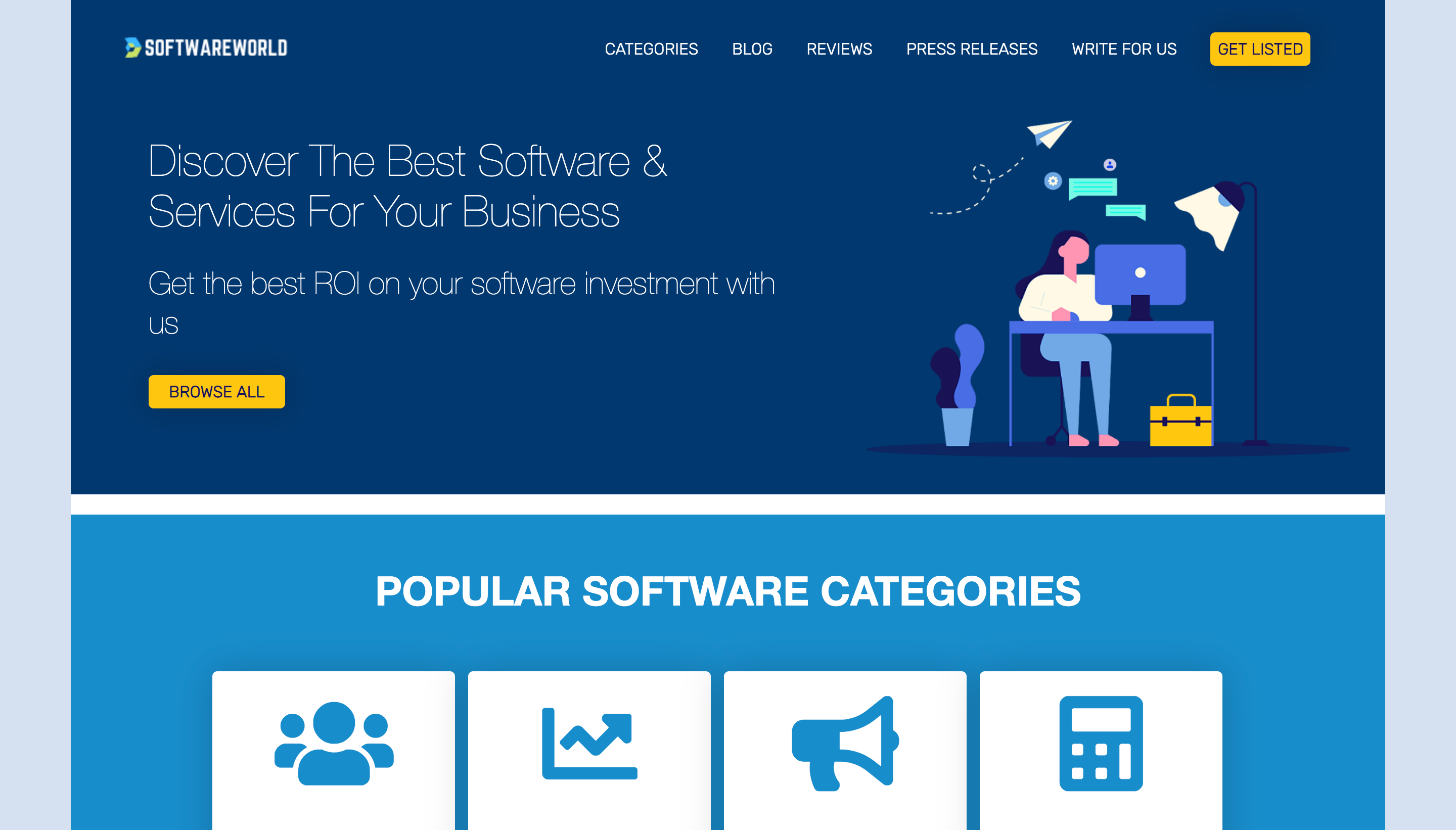 review sites softwareworld