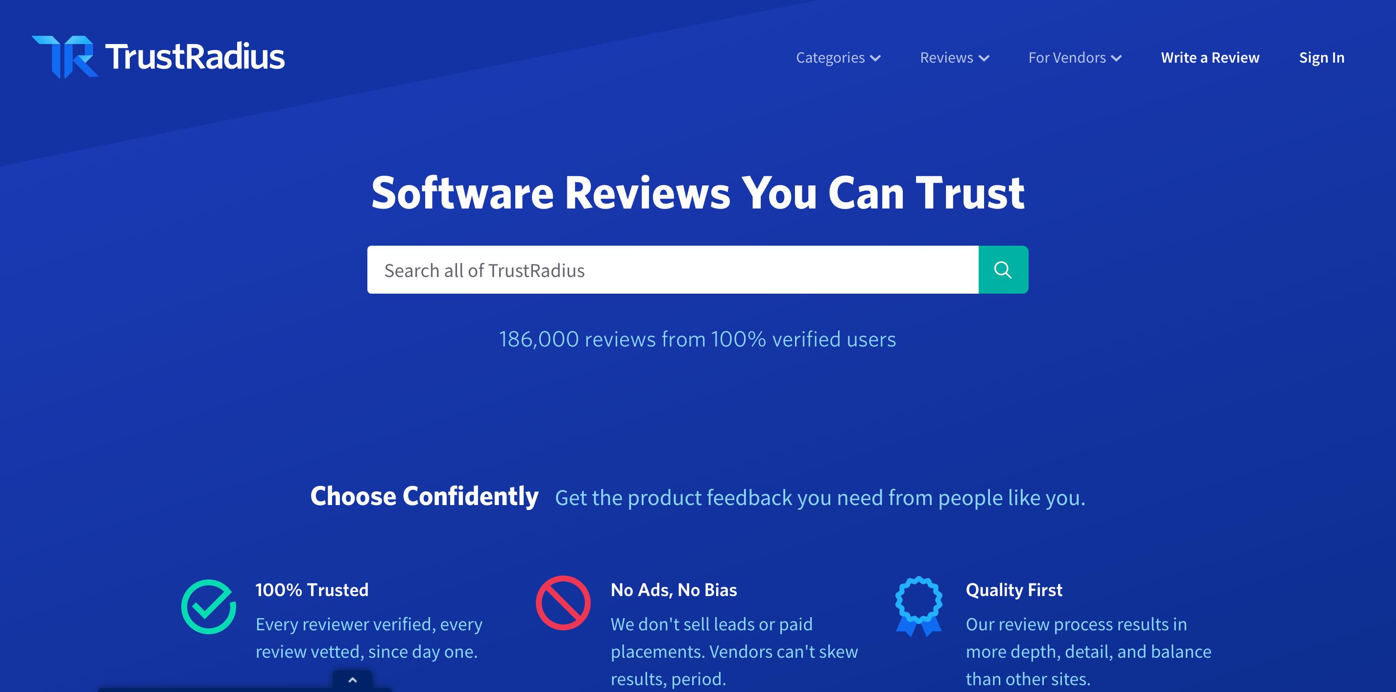 review sites trustradius