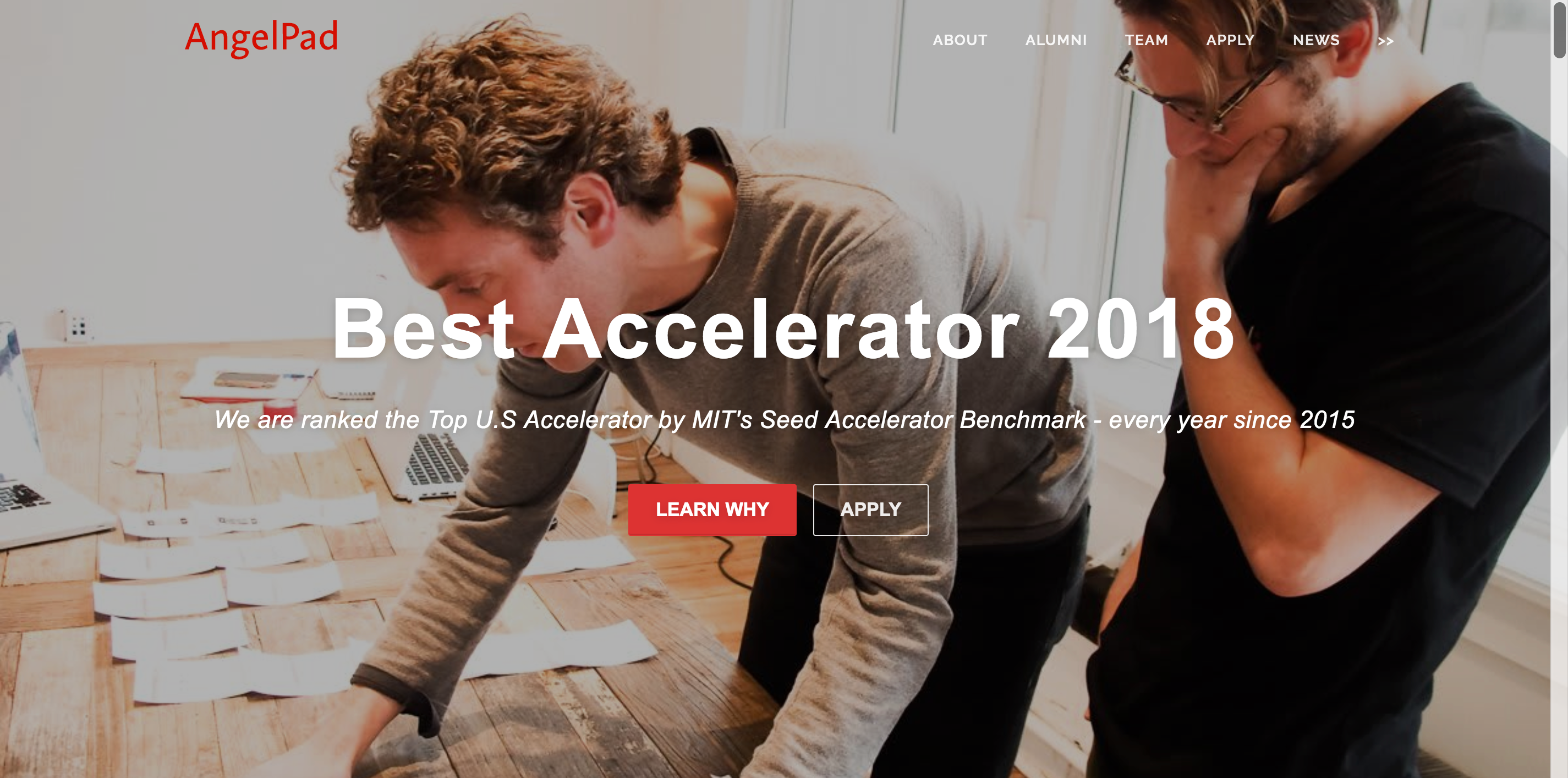 startup accelerators angelpad