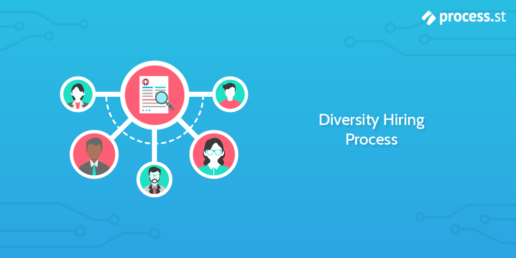 The Process of Hiring with a Focus on Diversity