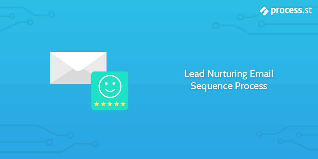 Lead Nurturing Email Sequence Process