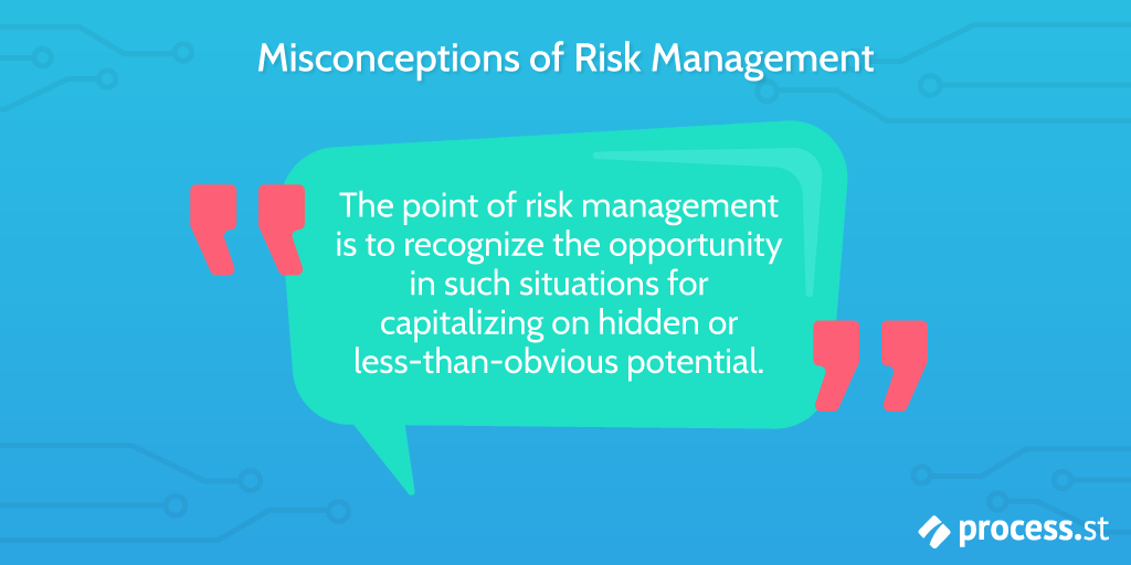 risk management misconceptions