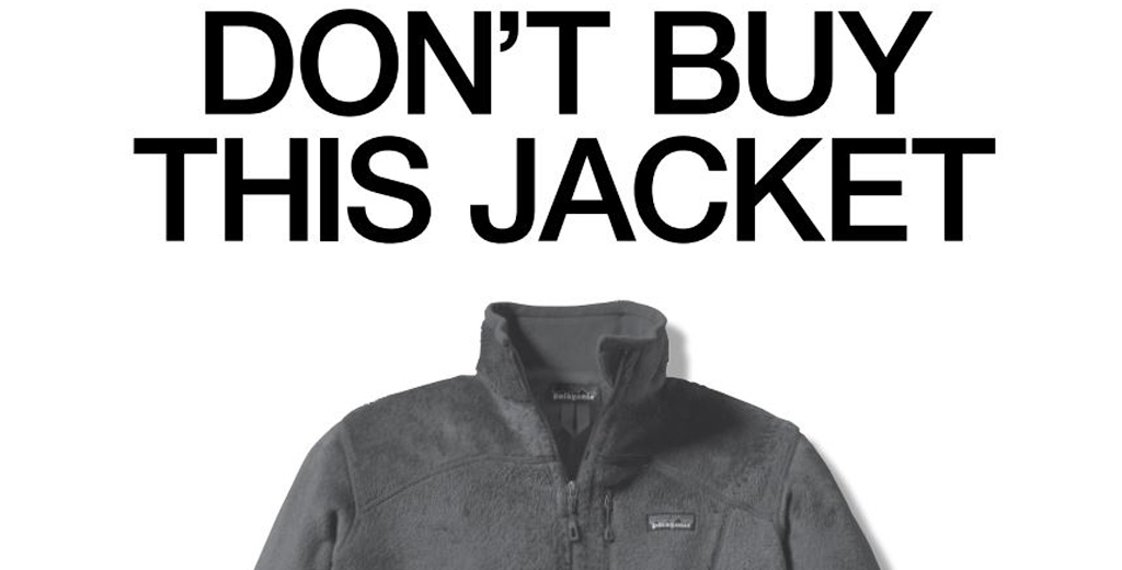 Patagonia advertisement - Don't Buy This Jacket
