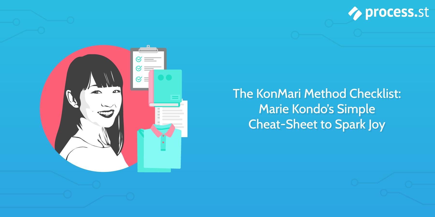The KonMari Method Checklist