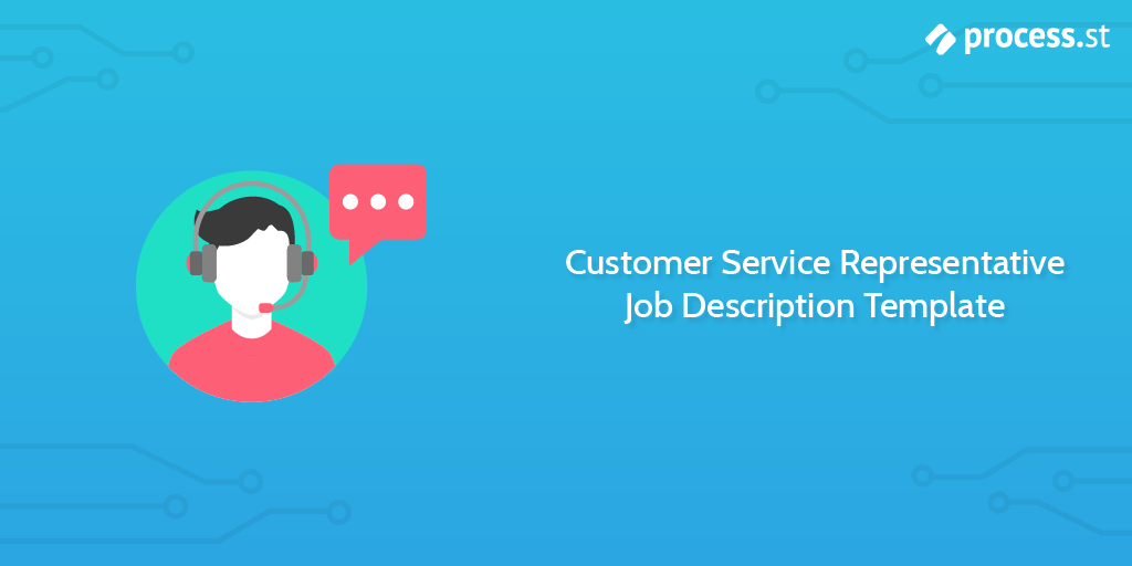 Customer Service Representative Job Description Template