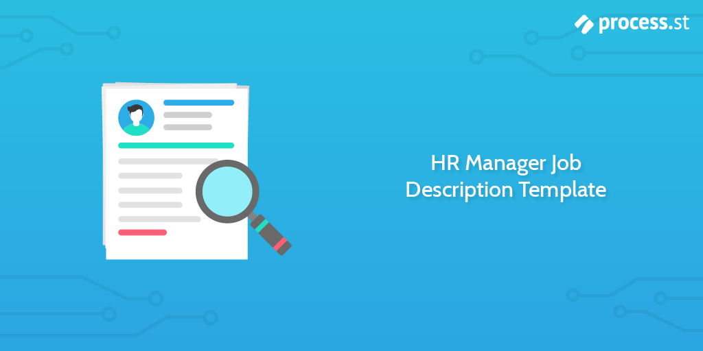 HR Manager Job Description Template