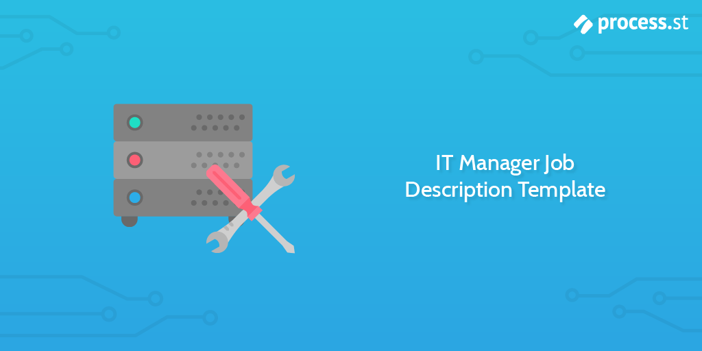 IT Manager Job Description Template
