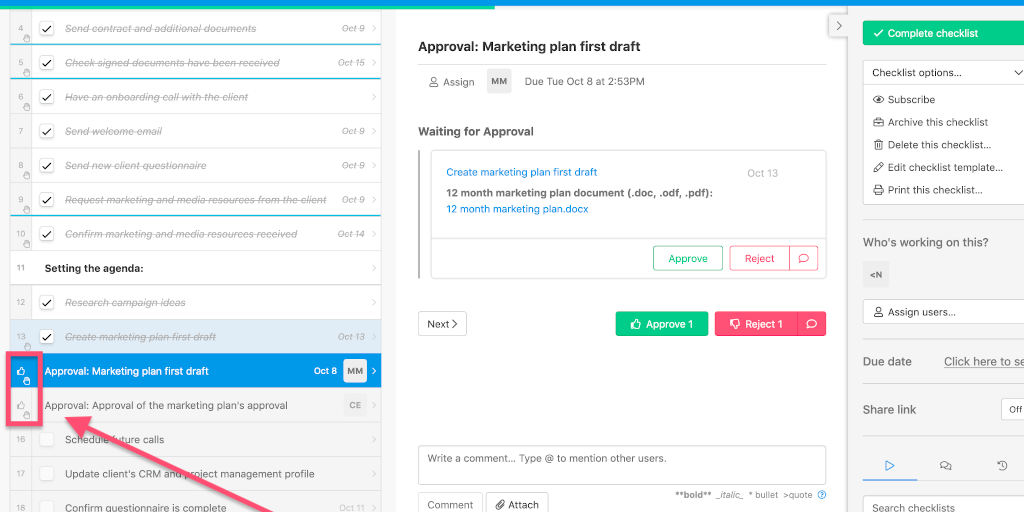 Approvals and Stop Tasks