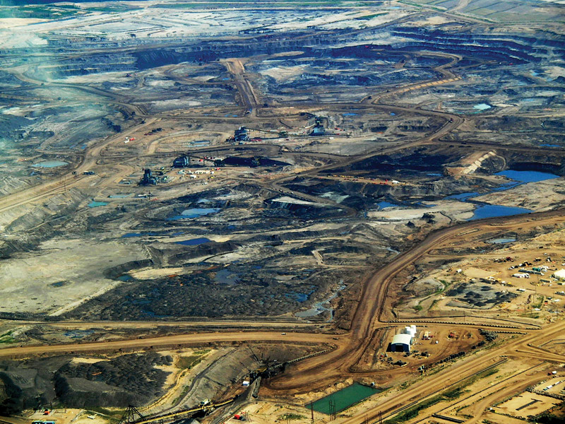Oil sands project