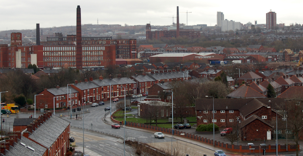 Oldham's cotton industry