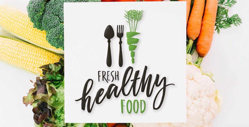 healthy food sign