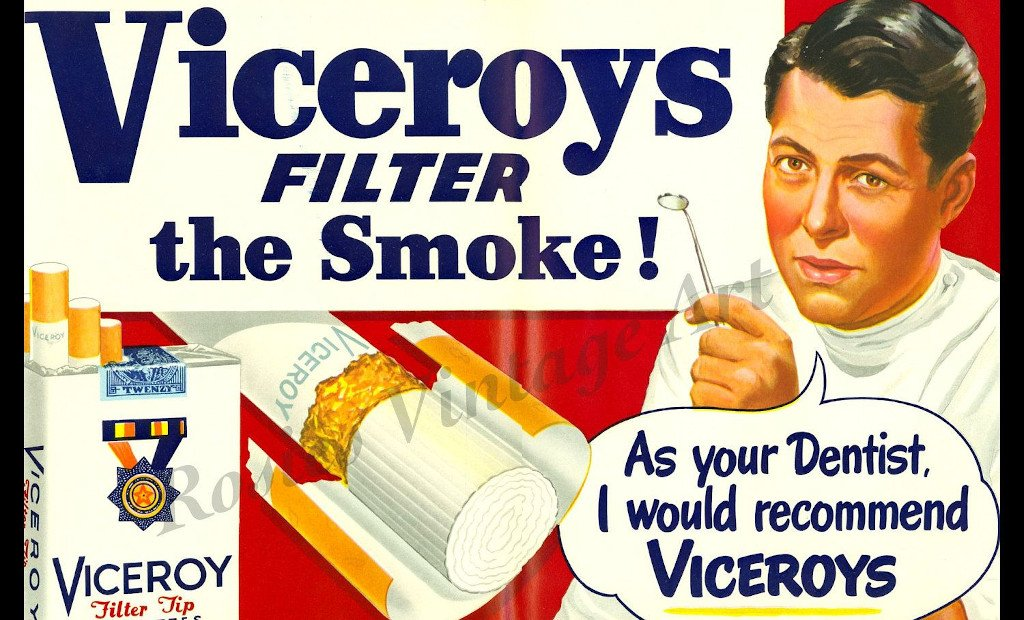 viceroys - fasle advertisement example