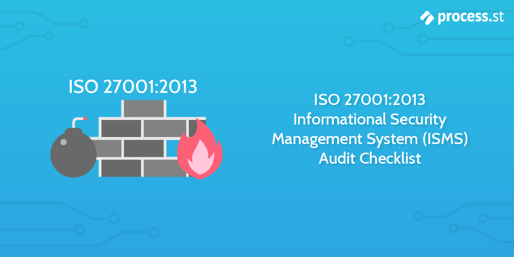 Audit procedures - ISO 27001:2013 Informational Security Management System (ISMS) Audit Checklist