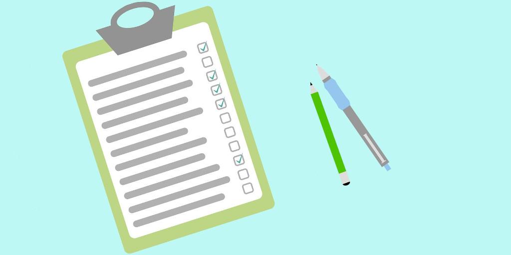 Marketing employee checklists