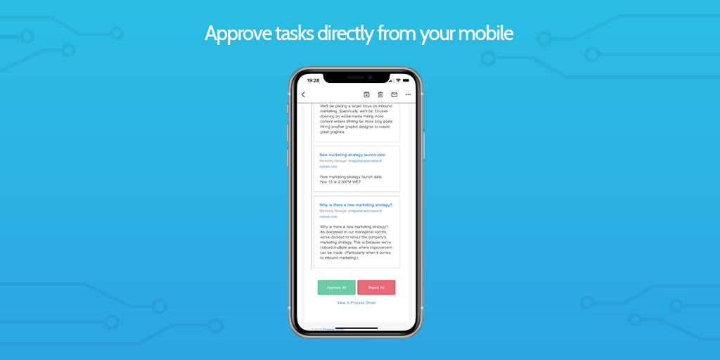 mobile approvals