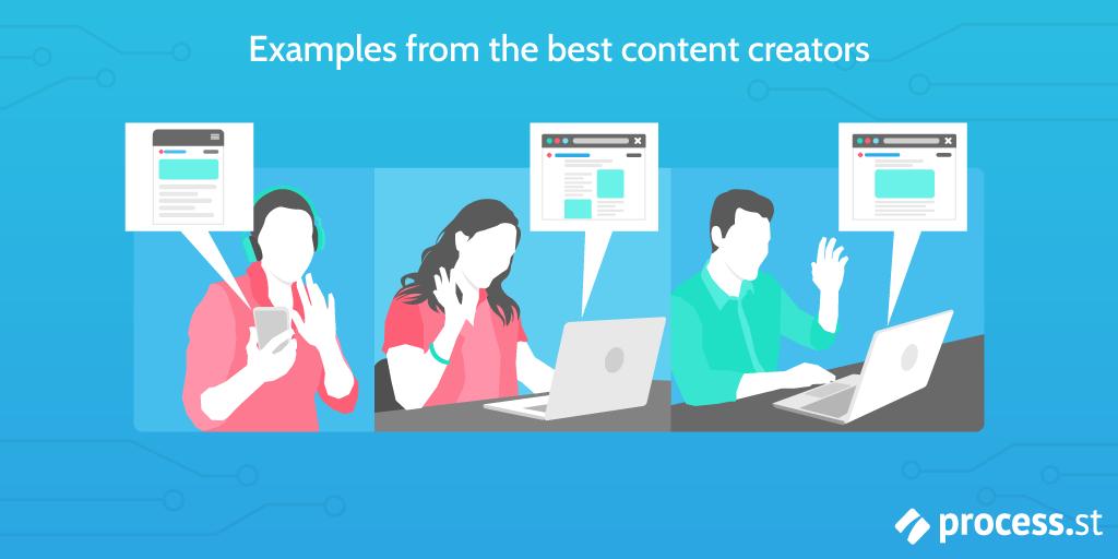 Best content creators