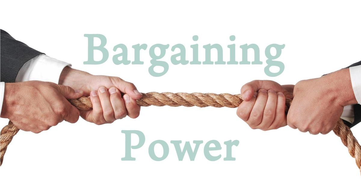 porters five forces bargaining power