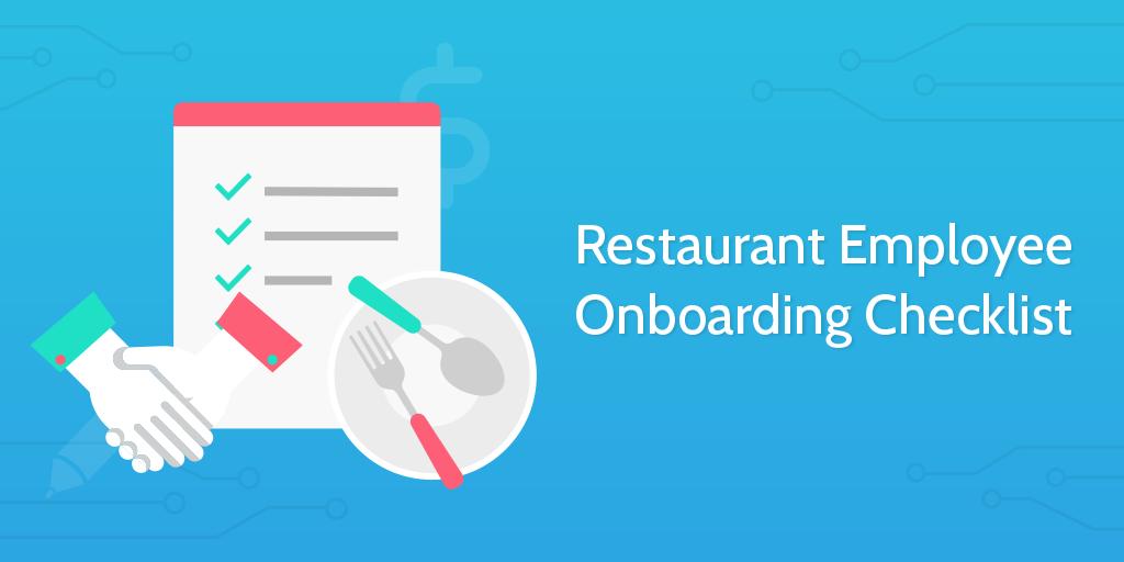 New Hire Checklist - Restaurant Employee Onboarding Checklist