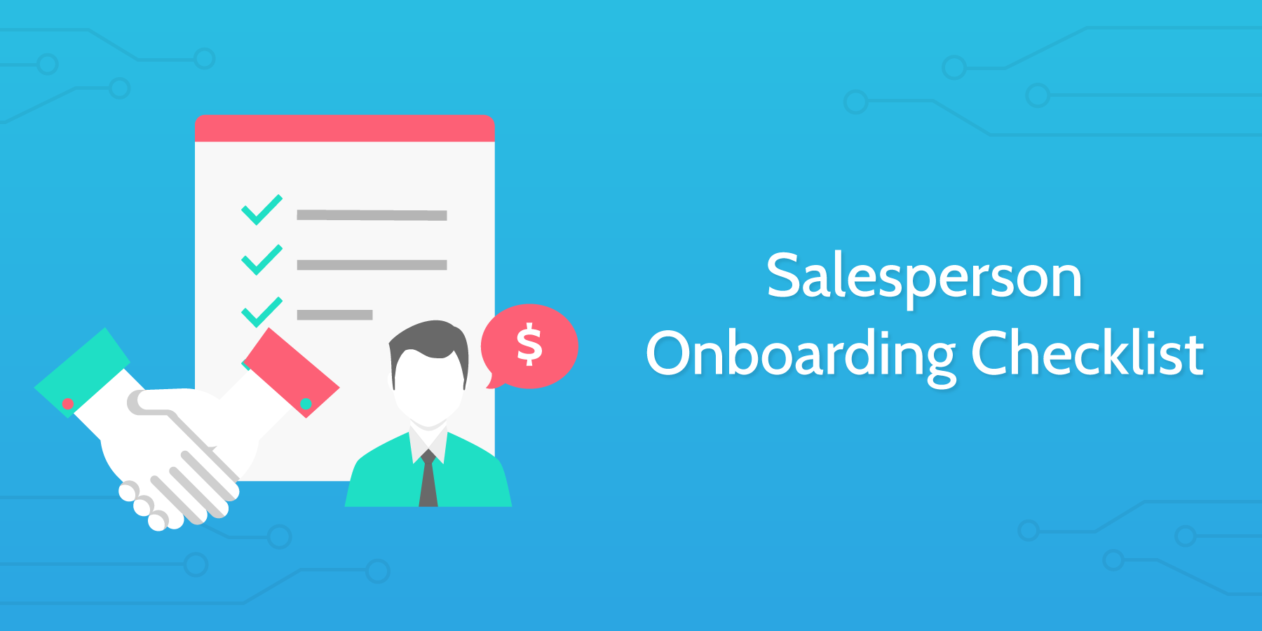 New Hire Checklist - Salesperson Onboarding Checklist for Startups