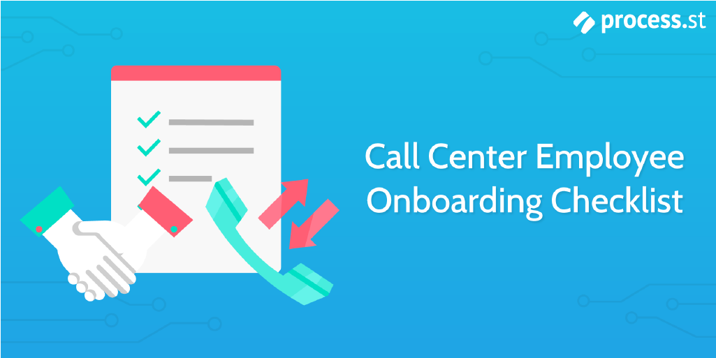 New hire checklist - call center employee onbaording checklist