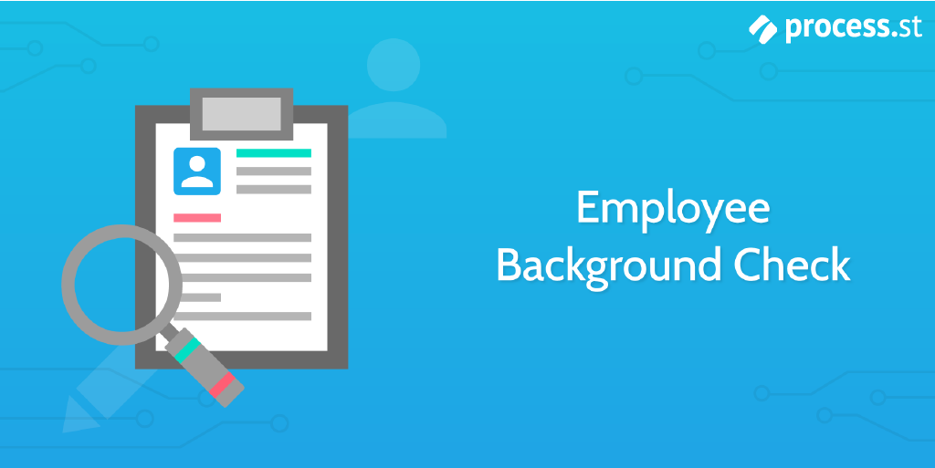 New hire checklist - employee background check