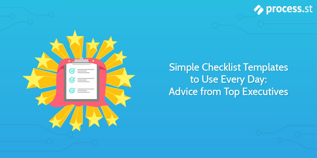 simple checklist template
