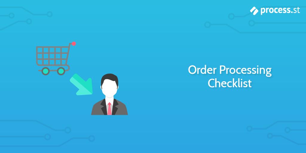 Order Processing Checklist
