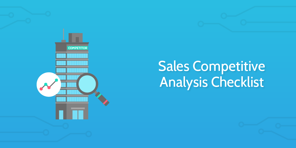 sales competitive analysis checklist