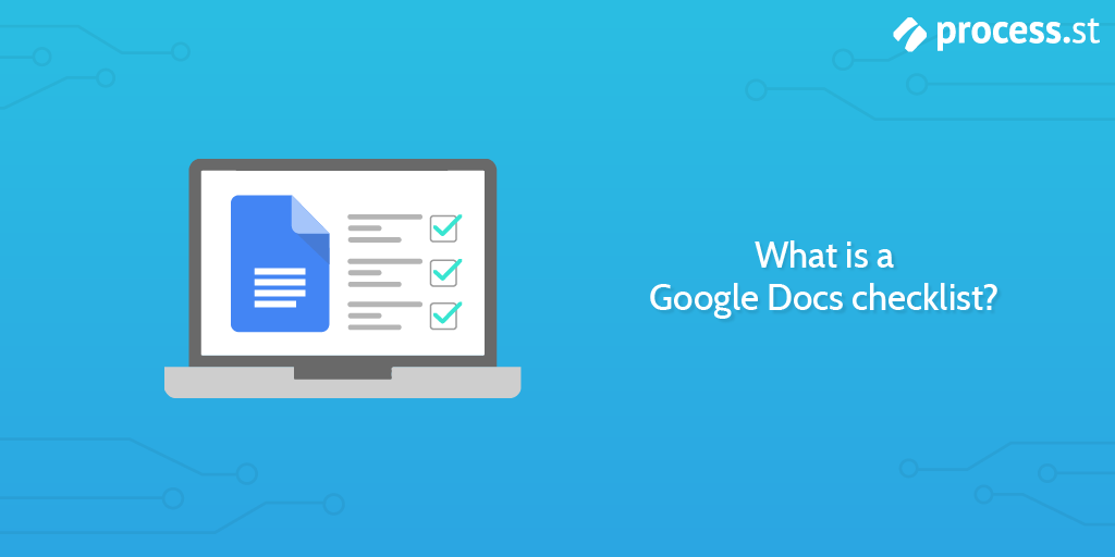 what is a google docs checklist