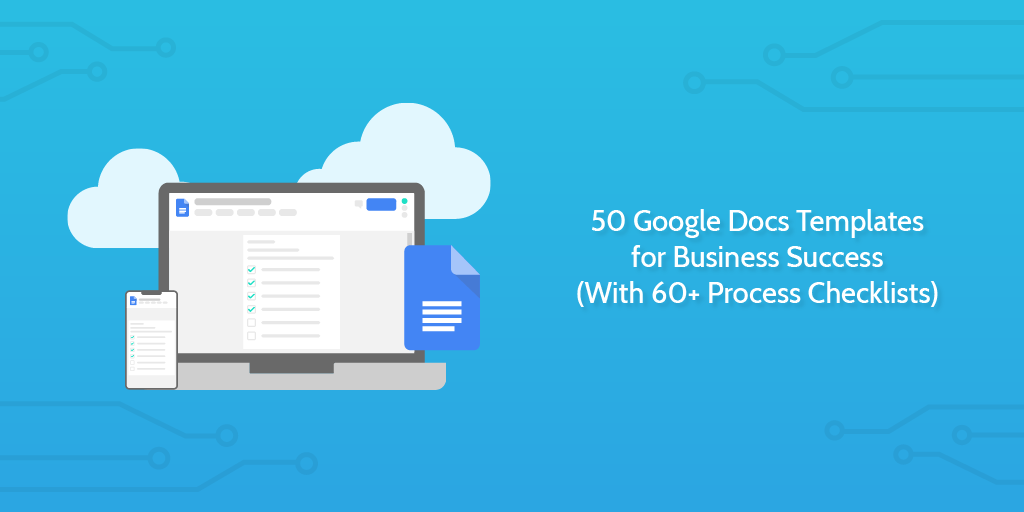 50 Google Docs Templates