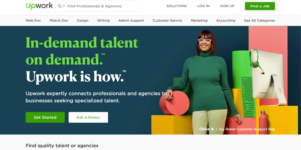 Best freelance websites Upwork