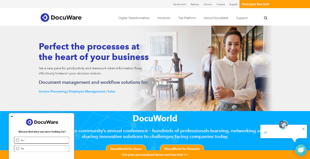 Enterpirse Document Management - Docuware