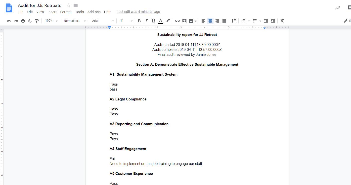 Google Docs templates - step 8