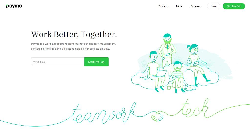 Team management tools - Paymo
