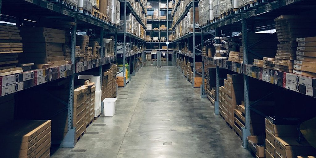 Online marketplace warehouse